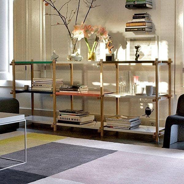 WOODY Shelving System - creato nello spirito del modernismo, HAY - deco e del design