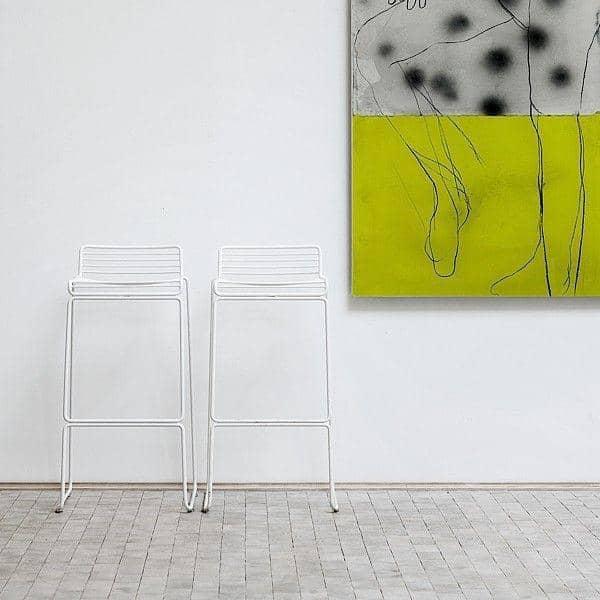 HEE Barstool di HAY adatta a interni ed esterni