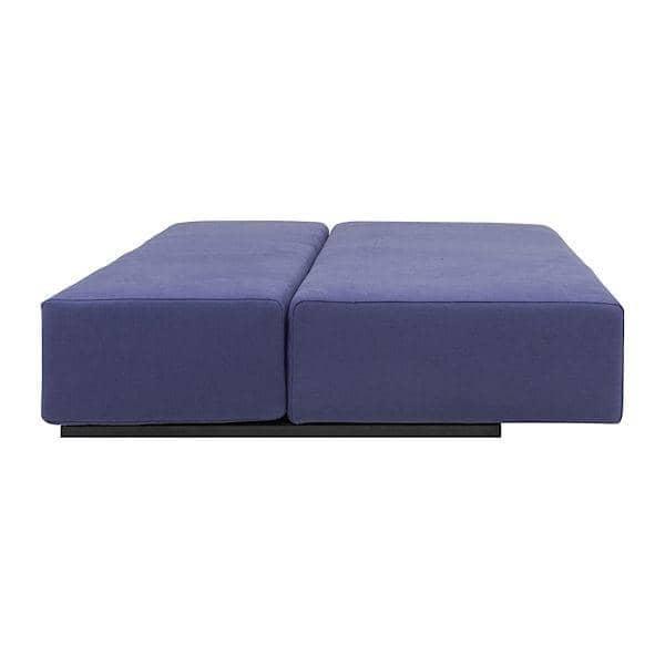NEVADA, tissus FELT : sofa convertible, 2 ou 3 places, avec sa méridienne et son pouf, des combinaisons multiples !