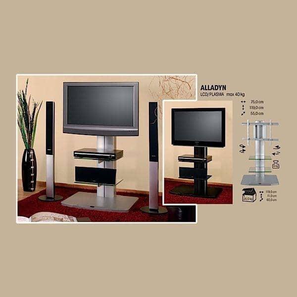 ALLADYN  Meuble TV LCD PLASMA  déco et design -> Meuble Tv Vitré