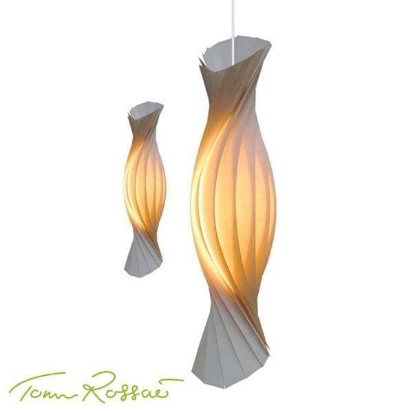 Tom Rossau - Suspension TR 8 - le bois et ses formes, tel un vêtement plein d'élégance