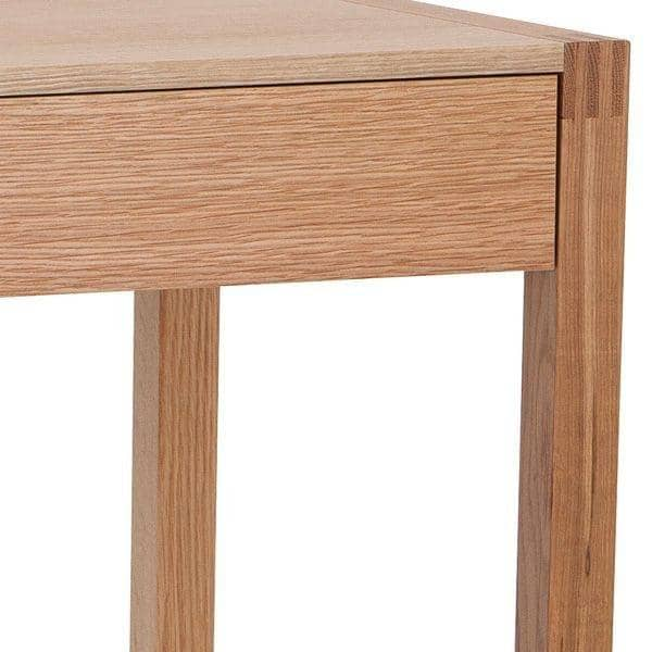Furniture Design Ratios desk with drawer - made with solid oak - fsc - an excellent