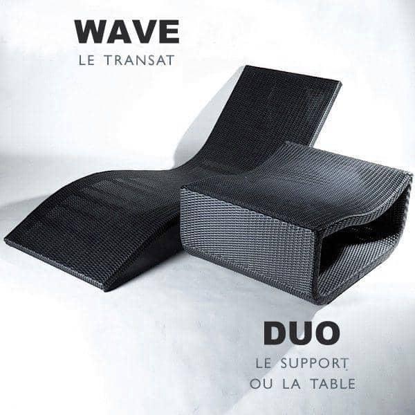 matelas pour le transat wave au jardin et sur la. Black Bedroom Furniture Sets. Home Design Ideas