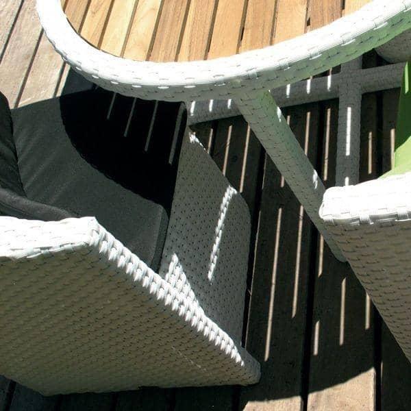 mobili da giardino proximity resina intrecciata