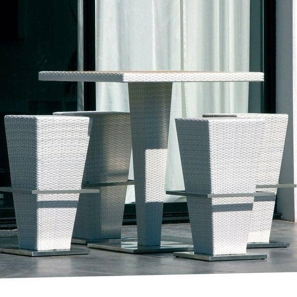 Compact hi high table and stools h misph re ditions - Table exterieur resine ...