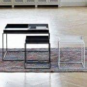 TRAY bordet, hø, meget handy og design - forskellige størrelser og farver
