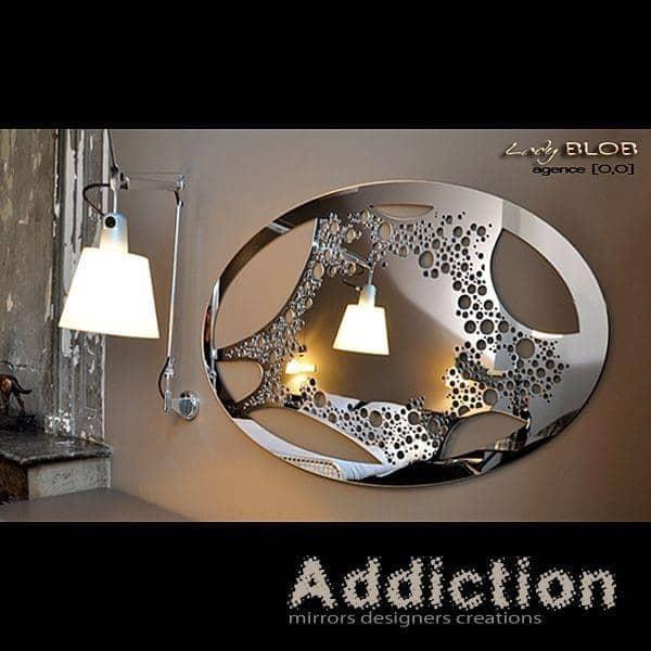 miroir d coratif lady blob un dessin l ger et f minin. Black Bedroom Furniture Sets. Home Design Ideas