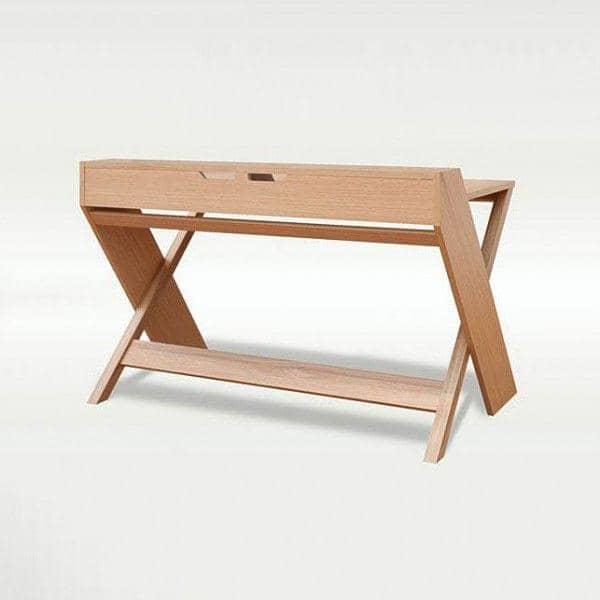 New RAVENSCROFT Desk - oak and walnut finish, LEONHARD PFEIFER RX05