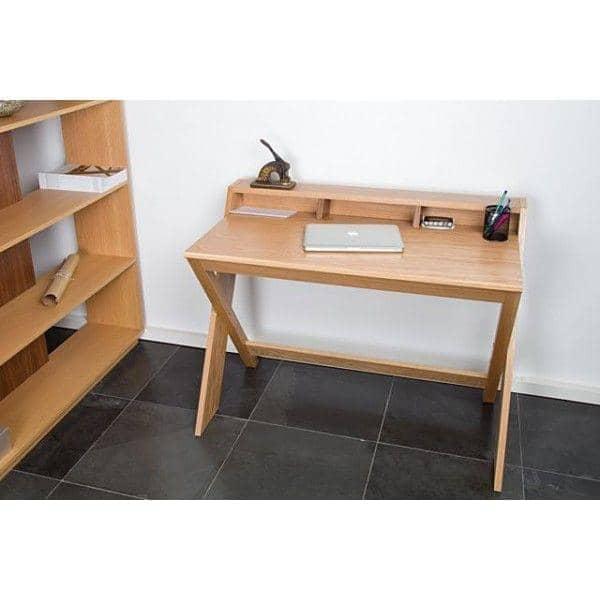 bureau ravenscroft finition ch ne et noyer leonhard pfeifer. Black Bedroom Furniture Sets. Home Design Ideas