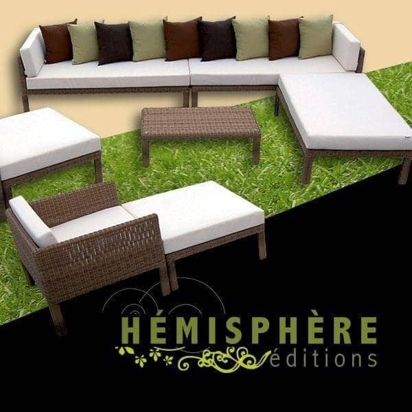 mobili da giardino lounge confort plus h misph re ditions. Black Bedroom Furniture Sets. Home Design Ideas
