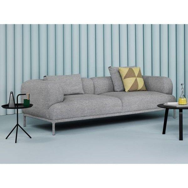 bjorn sofa hay a light sofa with rounded shapes deco and design. Black Bedroom Furniture Sets. Home Design Ideas