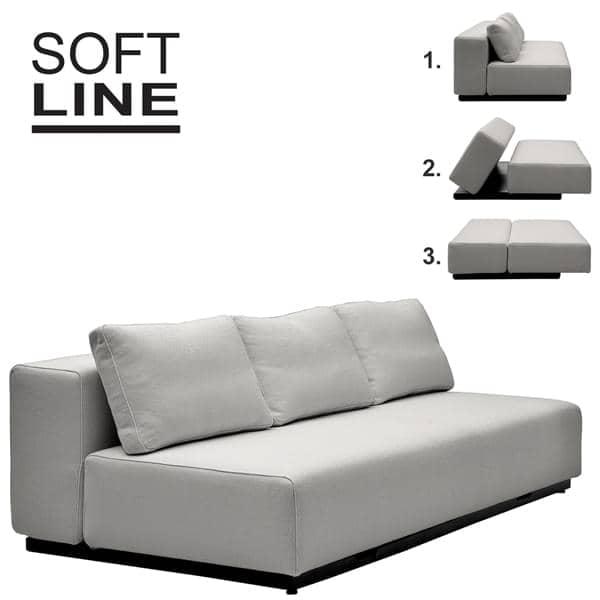 nevada vision stof cabriolet sofa 2 eller 3 seter chaise longue og pouf smukke. Black Bedroom Furniture Sets. Home Design Ideas