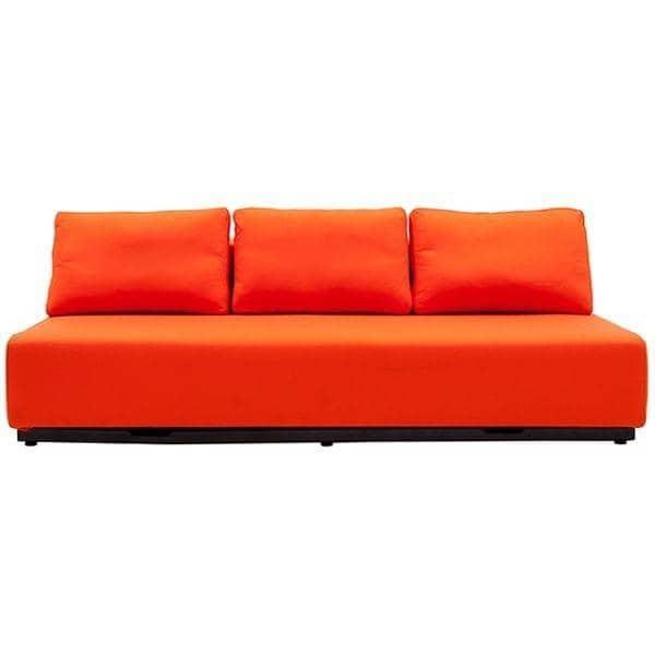 Nevada vision fabrics convertible sofa 2 or 3 seater for Sofa convertible 2 places