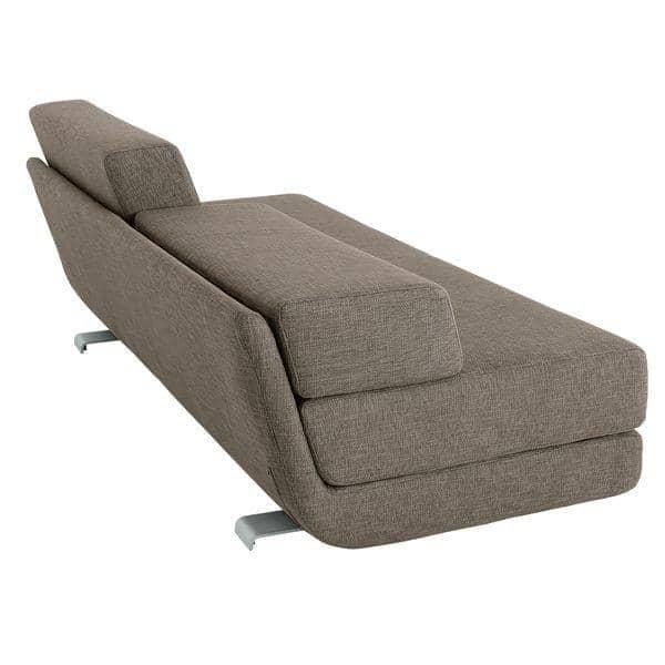 Lounge sofa felt sof convertible 3 plazas chaise for Sofa tres plazas chaise longue