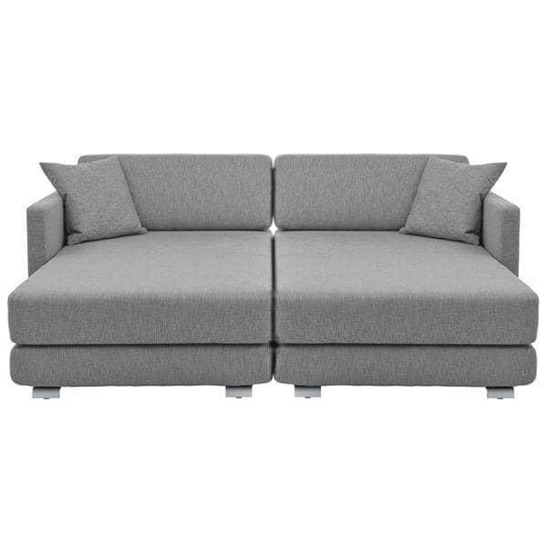 Lounge sofa nordic cabriolet sofa 3 seter chaise for Divina divano