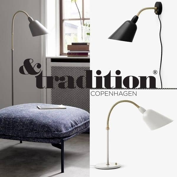 bellevue kollektion v glampe bordlampe and gulvlampe and tradition. Black Bedroom Furniture Sets. Home Design Ideas